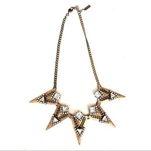 Baublebar Edgy Antique Gold Necklace